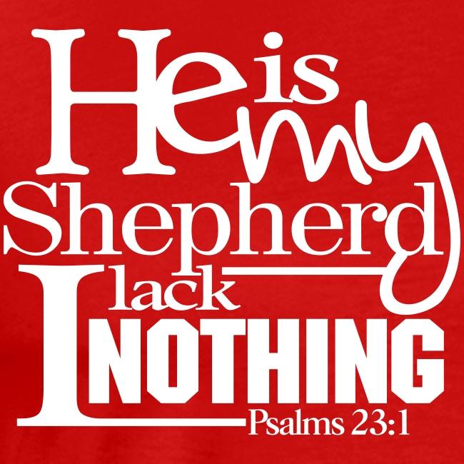 He is My Shepherd - Men