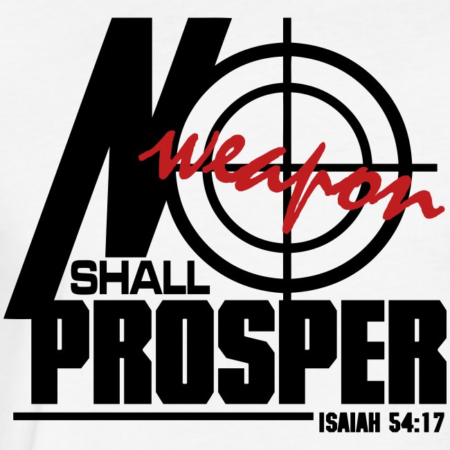 No Weapon Shall Prosper - Men