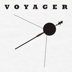 Voyager Space Probe - Men's T-Shirt