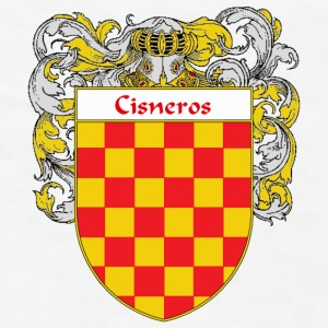 Cisneros Coat of Arms/Family Crest - Men's T-Shirt