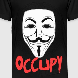 Occupy - Guy Fawkes Mask Kids' Shirts - Toddler Premium T-Shirt