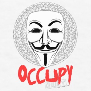 Occupy - Guy Fawkes Mask Accessories - Men's T-Shirt