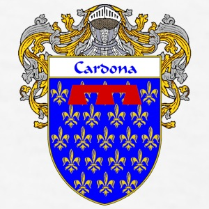 Cardona Coat of Arms/Family Crest - Men's T-Shirt