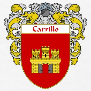 Carrillo Coat of Arms/Family Crest - Men's T-Shirt