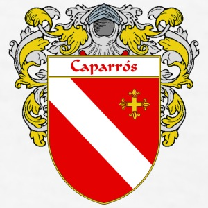 Caparrós Coat of Arms/Family Crest - Men's T-Shirt