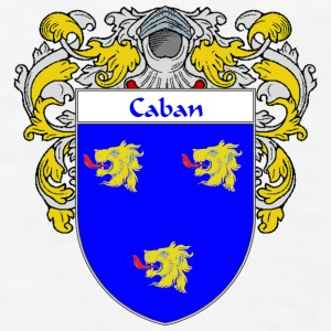 Caban Coat of Arms/Family Crest - Men's T-Shirt