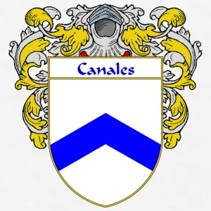 Canales Coat of Arms/Family Crest - Men's T-Shirt