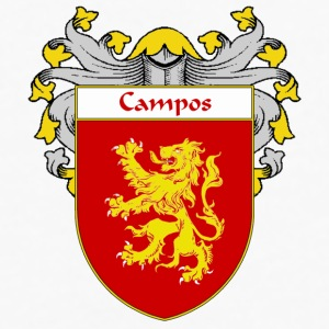Campos Coat of Arms/Family Crest - Men's Premium Long Sleeve T-Shirt