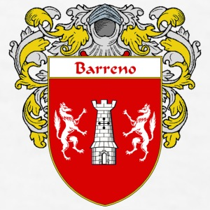 Barreno Coat of Arms/Family Crest - Men's T-Shirt