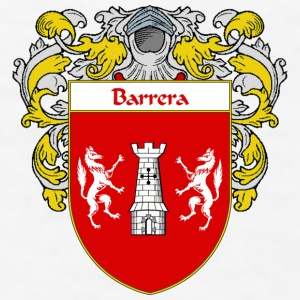 Barrera Coat of Arms/Family Crest - Men's T-Shirt