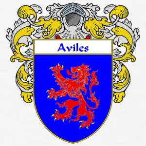 Aviles Coat of Arms/Family Crest - Men's T-Shirt