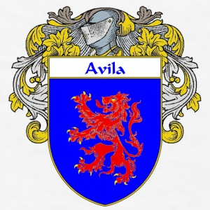 Avila Coat of Arms/Family Crest - Men's T-Shirt