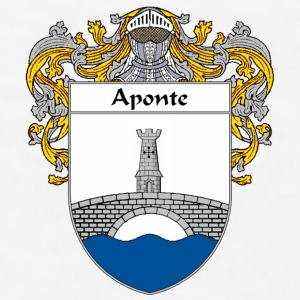 Aponte Coat of Arms/Family Crest - Men's T-Shirt