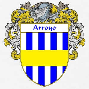 Arroyo Coat of Arms/Family Crest - Men's T-Shirt