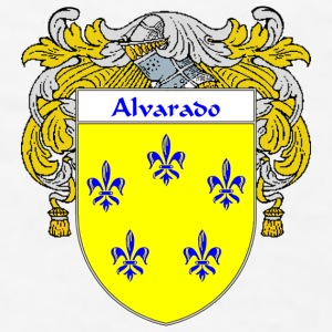Alvarado Coat of Arms/Family Crest - Men's T-Shirt