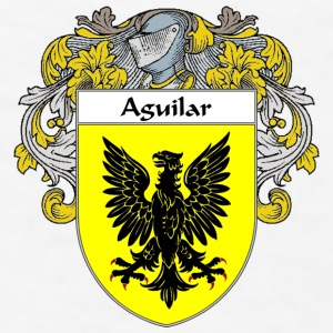 Aguilar Coat of Arms/Family Crest - Men's T-Shirt