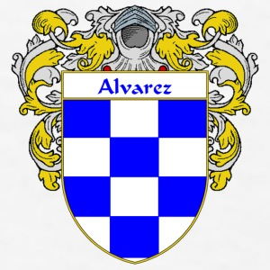 Alvarez Coat of Arms/Family Crest - Men's T-Shirt