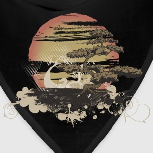 Bonsai Scene T-Shirts - Bandana