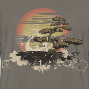 Bonsai Scene T-Shirts - Men's Premium Long Sleeve T-Shirt