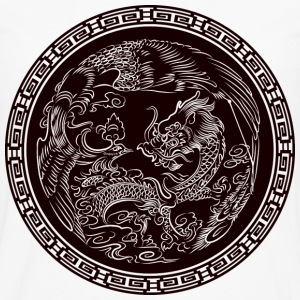 Dragon Seal T-Shirts - Men's Premium Long Sleeve T-Shirt