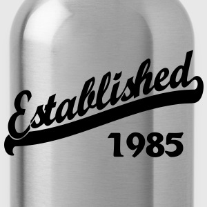 Established 1985 Women's T-Shirts - Water Bottle