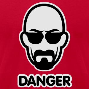 Heisenberg I am the danger Long Sleeve Shirts - Men's T-Shirt by American Apparel