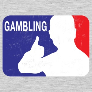 OFFICIAL GAMBLING LOGO T-Shirts - Men's Premium Long Sleeve T-Shirt