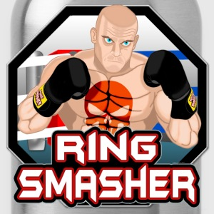 Ring Smasher Silver Hoodies - Water Bottle