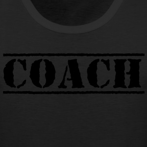 COACH Women's T-Shirts - Men's Premium Tank