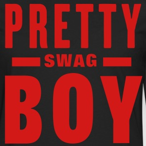 PRETTY BOY SWAG T-Shirts - Men's Premium Long Sleeve T-Shirt