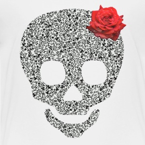 skull and rose Kids' Shirts - Toddler Premium T-Shirt