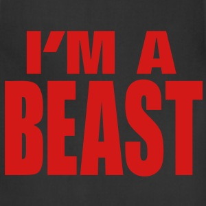 I'M A BEAST T-Shirts - Adjustable Apron