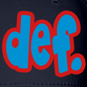 def. Zip Hoodies/Jackets - Baseball Cap