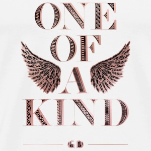 [G-Dragon] One Of A Kind Album Art Logo Hoodies - Men's Premium T-Shirt