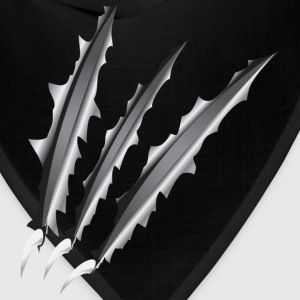 Claw Slashes T-Shirts - Bandana