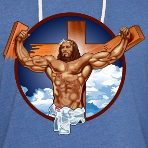Funny Gym Shirt - Come at me bro jesus T-Shirts - Unisex Lightweight Terry Hoodie