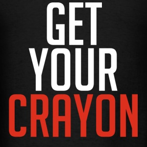 Get Your Crayon Red (White) Hoodies - Men's T-Shirt