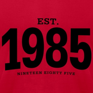 est. 1985 Nineteen Eighty Five - Men's T-Shirt by American Apparel