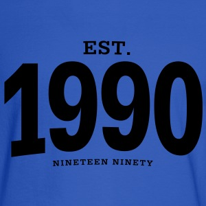 est. 1990 Nineteen Ninety - Men's Long Sleeve T-Shirt