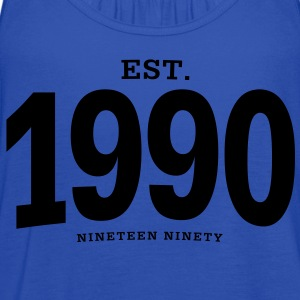 est. 1990 Nineteen Ninety - Women's Flowy Tank Top by Bella