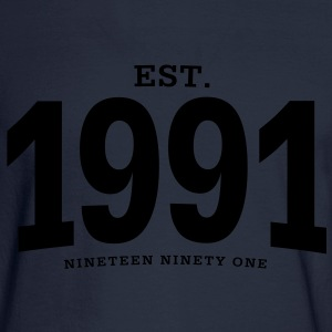 est. 1991 Nineteen Ninety One - Men's Long Sleeve T-Shirt
