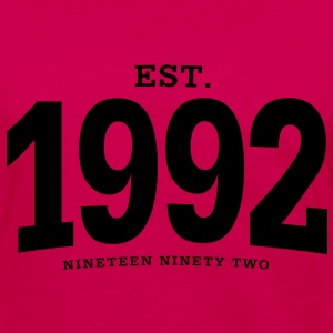 est. 1992 Nineteen Ninety Two - Women's Premium Long Sleeve T-Shirt