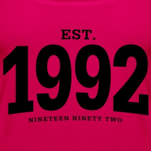 est. 1992 Nineteen Ninety Two - Women's Premium Tank Top