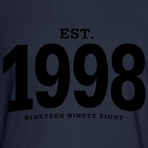 est. 1998 Nineteen Ninety Eight - Men's Long Sleeve T-Shirt