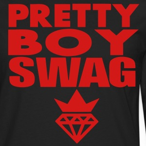 SWAG PRETTY GUY T-Shirts - Men's Premium Long Sleeve T-Shirt