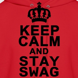 Keep Calm And Stay Swag Kids' Shirts - Men's Hoodie