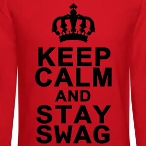 Keep Calm And Stay Swag Kids' Shirts - Crewneck Sweatshirt