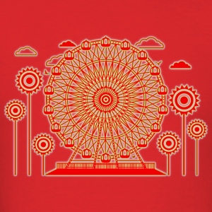 Ferris_Wheel - Men's T-Shirt