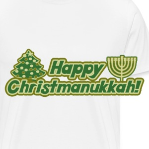 Happy Christmanukkah - Men's Premium T-Shirt