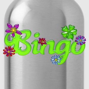 Bingo Bubble Floral Hoodies - Water Bottle